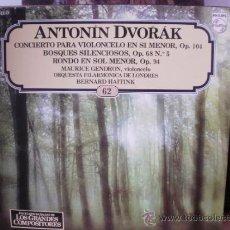 Discos de vinilo: ANTONIN DVORAK. Lote 36737207