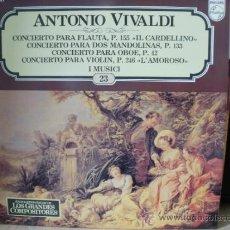 Discos de vinilo: ANTONIO VIVALDI. Lote 36737351