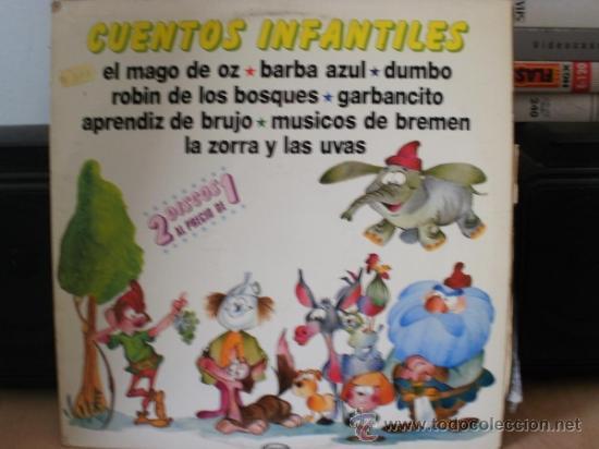 CUENTOS INFANTILES (Música - Discos - LPs Vinilo - Música Infantil)