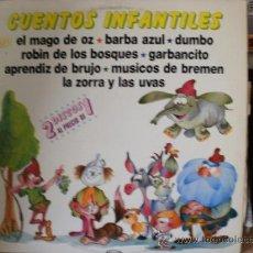 Discos de vinilo: CUENTOS INFANTILES. Lote 36737411