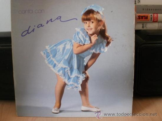 DIANA CANTA CON DIANA (Música - Discos - LPs Vinilo - Música Infantil)