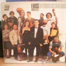 Discos de vinilo: EROS RAMAZZOTTI EN TODOS LOS SENTIDOS. Lote 36737455