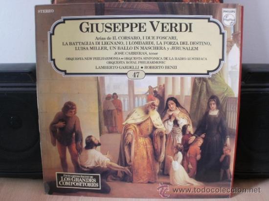 GIUSEPPE VERDI (Música - Discos - LP Vinilo - Clásica, Ópera, Zarzuela y Marchas)