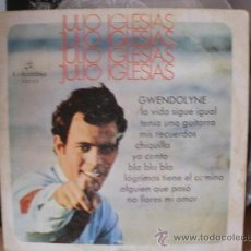 Discos de vinilo: JULIO IGLESIAS GWENDOLYNE 1 SINGLE DISCO EN FORMATO 33 RPM. Lote 36737537