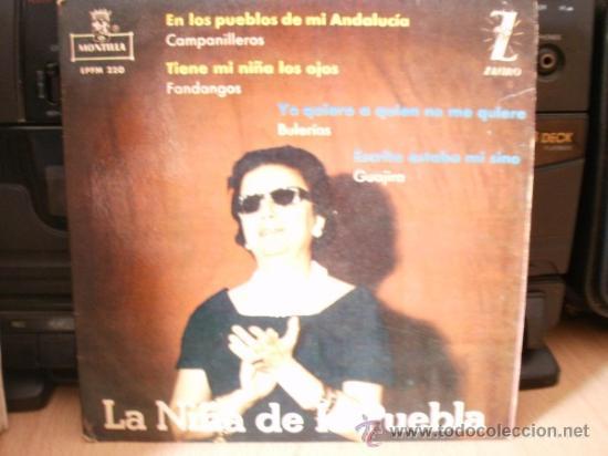 LA NIÑA DE LA PUEBLA (Música - Discos - LP Vinilo - Clásica, Ópera, Zarzuela y Marchas)