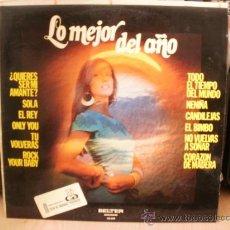 Discos de vinilo: LO MEJOR DEL AÑO. Lote 36737560
