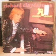 Discos de vinilo: RICHARD CLAYDERMAN A COMO AMOR. Lote 36737609