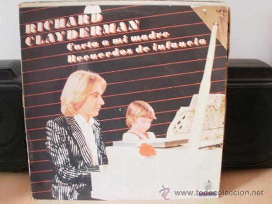 RICHARD CLAYDERMAN CARTA A MI MADRE RECUERDOS DE INFANCIA (Música - Discos - LP Vinilo - Clásica, Ópera, Zarzuela y Marchas)