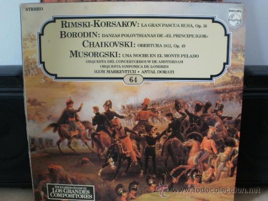 RIMSKI-KORSAKOV BORODIN CHAIKOVSKI MUSORGSKI (Música - Discos - LP Vinilo - Clásica, Ópera, Zarzuela y Marchas)