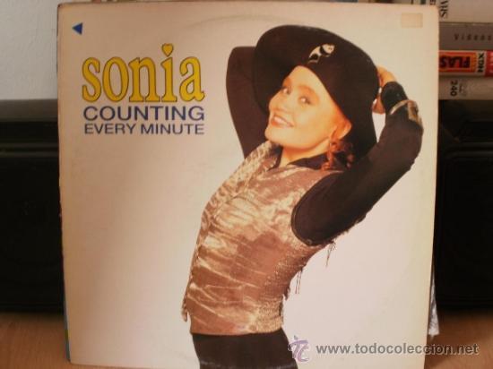 SONIA COUNTING EVERY MINUTE SINGLE (Música - Discos - Singles Vinilo - Pop - Rock Internacional de los 90 a la actualidad)