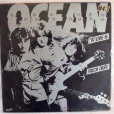 Discos de vinilo: DISCOS VINILO FORMATO LP ARTISTA OCEAN GRUPO DE ROCK DURO FRANCÉS. Lote 36652535