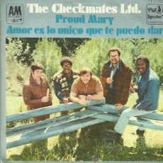 Vinyl-Schallplatten - THE CHECKMATES LTD. SINGLE SELLO HISPAVOX AÑO 1969 EDITADO EN ESPAÑA - 36662843