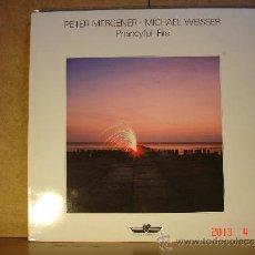 Discos de vinilo: PETER MERGENER / MICHAEL WEISSER - PHANCYFUL-FIRE - INNOVATIVE COMMUNICATION KS 80.053 - 1985. Lote 36666289