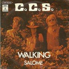 Discos de vinilo: C. C. S. SINGLE SELLO EMI-ODEON AÑO 1971 EDITADO EN ESPAÑA . Lote 36668875