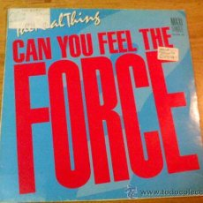 Discos de vinilo: THE REAL THING. CAN YOU FEEL THE FORCE?. Lote 47697852
