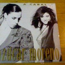 Discos de vinilo: AZUCAR MORENO. A CABALLO.. Lote 36673200