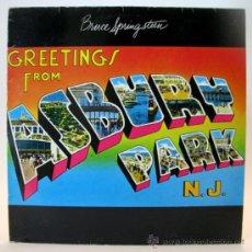 Discos de vinilo: BRUCE SPRINGSTEEN_ GREETINGS FROM ASBURY PARK, N.J. AÑO: 1977. SELLO: CBS. Lote 36672849