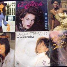 Discos de vinilo: SINGLES VINILO MUJERES DE EXITO...PIA ZADORA. Lote 36678097