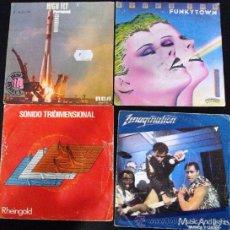 Discos de vinilo: MUSICA DISCO EXITOS AÑOS 80 . Lote 36678174