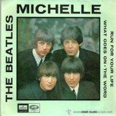 Discos de vinilo: THE BEATLES EP SELLO EMI-ODEON AÑO 1966 EDITADO EN ESPAÑA. Lote 36680369