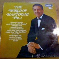 Discos de vinilo: THE WORLD OF MANTOVANI. VOL. 2. Lote 36691851