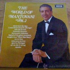 Discos de vinilo: THE WORLD OF MANTOVANI. VOL. 2. Lote 36691860