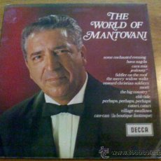 Discos de vinilo: THE WORLD OF MANTOVANI. . Lote 36691890