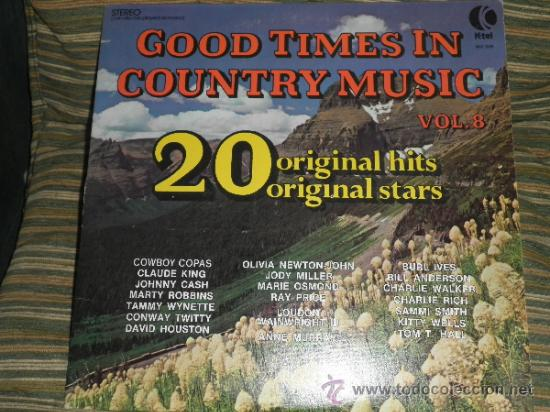 Discos de vinilo: GOOD TIMES IN COUNTRY MUSIC VOL. 8 LP - ORIGINAL U.S.A. K-TEL 1974 - LIMITED COLLECTOR´S EDITION - - Foto 18 - 36674794