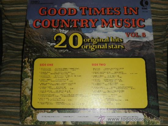 Discos de vinilo: GOOD TIMES IN COUNTRY MUSIC VOL. 8 LP - ORIGINAL U.S.A. K-TEL 1974 - LIMITED COLLECTOR´S EDITION - - Foto 17 - 36674794