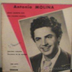 Discos de vinilo: EP MUY DIFICIL EDITADO EN FRANCIA ANTONIO MOLINA. Lote 36696428