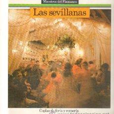 Discos de vinilo: MAESTROS DEL FLAMENCO. LAS SEVILLANAS. COPLAS DE FERIA Y RO MERÍA D-FLA-1756. Lote 46030534