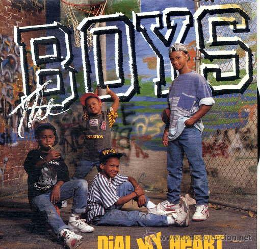 THE BOYS / DIAL MY HEART (SINGLE 1988) (Música - Discos - Singles Vinilo - Rap / Hip Hop)