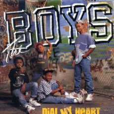 Discos de vinilo: THE BOYS / DIAL MY HEART (SINGLE 1988). Lote 36702597