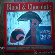 Discos de vinilo: ELVIS COSTELLO AND THE ATTRACTIONS - BLOOD & CHOCOLATE . Lote 36708335