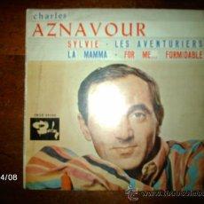 Discos de vinilo: CHARLES AZNAVOUR - SYLVIE + 3 . Lote 36711802
