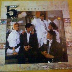 Discos de vinilo: LUXURY OF LIFE. FIVE STAR. 1985. Lote 36712447