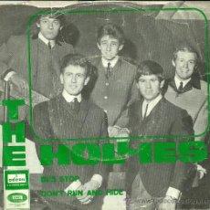 Discos de vinilo: THE HOLLIES SINGLE SELLO EMI-ODEON AÑO 1966 EDITADO EN ESPAÑA. Lote 36705202