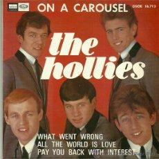 Discos de vinilo: THE HOLLIES EP SELLO EMI-ODEON AÑO 1967 EDITADO EN ESPAÑA. Lote 36705211