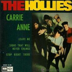 Discos de vinilo: THE HOLLIES EP SELLO EMI-ODEON AÑO 1967 EDITADO EN ESPAÑA. Lote 36705219