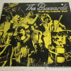 Discos de vinilo: THE BUZZARDS ( JELLIED EELS TO RECORD DEALS ) 1979-GERMANY LP33 CHRYSALIS RECORDS. Lote 36705576