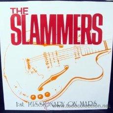 Discos de vinilo: THE SLAMMERS, ROCK ESCANDINAVO, 1:ST MISSIONARY ON MARS, SUECIA, ROMILAR-D. Lote 36709550