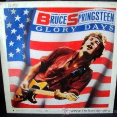 Discos de vinilo: BRUCE SPRINGSTEEN, GLORY DAYS, STAND ON IT (INÉDITA), SHERRY DARLING, RACING IN THE STREET, 1985. Lote 36711883