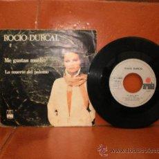 Discos de vinilo: SINGLE DE ROCIO DURCAL. Lote 36714782