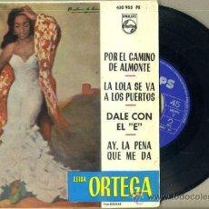 Discos de vinilo: LUISA ORTEGA : POR EL CAMINO DE ALMONTE (1964). Lote 36715024