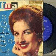 Discos de vinilo: MINA : LE MILLE BOLLE BLU - SAN REMO 1961. Lote 36715141