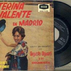 Discos de vinilo: CATERINA VALENTE EN MADRID (1960). Lote 52473754