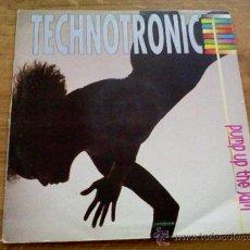 Discos de vinilo: TECHNOTRONIC. PUMP UP THE JAM. Lote 36715866
