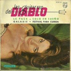 Discos de vinilo: LAS GUITARRAS DEL DIABLO EP SELLO PHILIPS AÑO 1963 EDITADO EN ESPAÑA. Lote 36717691