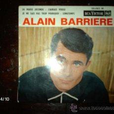 Discos de vinilo: ALAIN BARRIERE - LA MARIE JOCONDE + 3. Lote 36727446