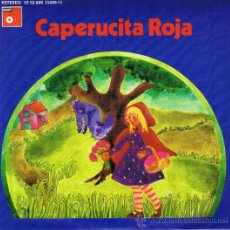 Discos de vinilo: CAPERUCITA ROJA - CASAS AUGÈ - MATÍAS GUIÚ - PILAR VILLUENDAS - 1974. Lote 36795254